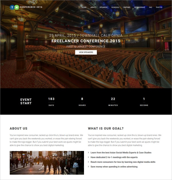 free responsive html5 website theme