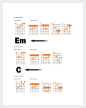 Bass Guitar Chords Chart for Beginner