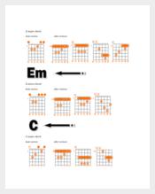 Complete Bass Guitar Chord Chart