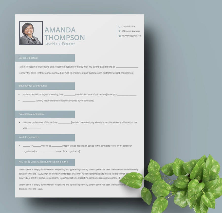 Registered Nurse Template