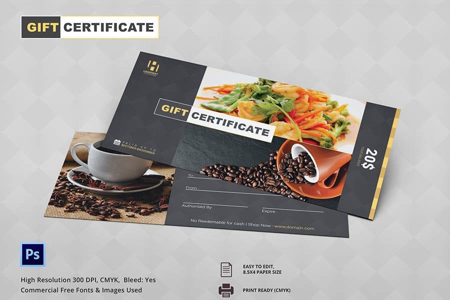 7 free gift certificate templates birthday business for Hotel voucher design
