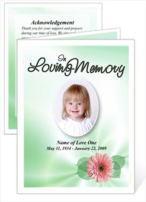 15 Funeral Card Templates Free PSD AI EPS Format Download – Funeral Card Templates Free