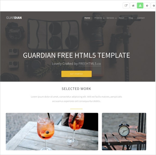 multipurpose free bootstrap html5 theme