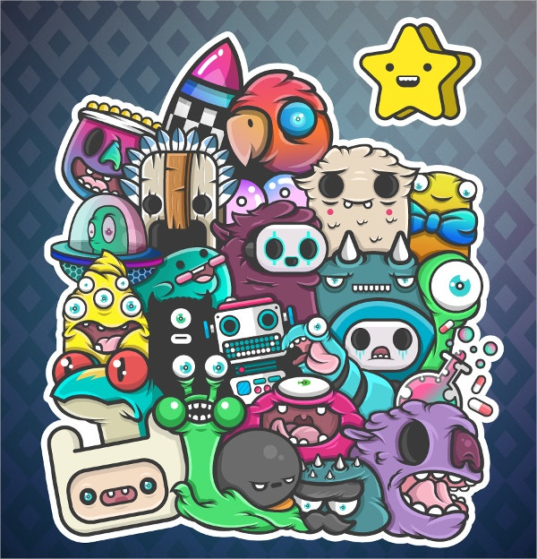 23 imaginative doodle art designs free premium templates new vector doodle art pronofoot35fo Choice Image