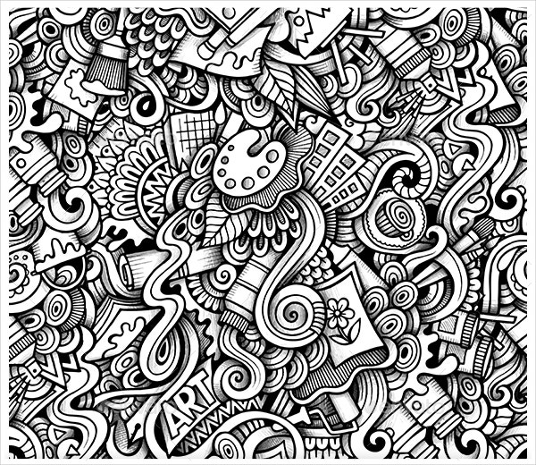 22+ Imaginative Doodle Art Designs | Free & Premium Templates