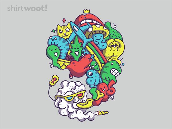 Wild Smoke Doodle Art Design