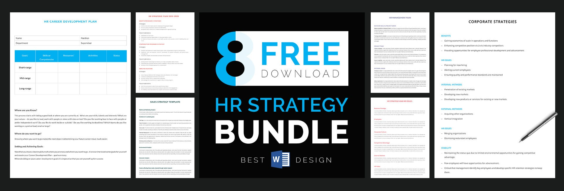 human resource strategy templates1