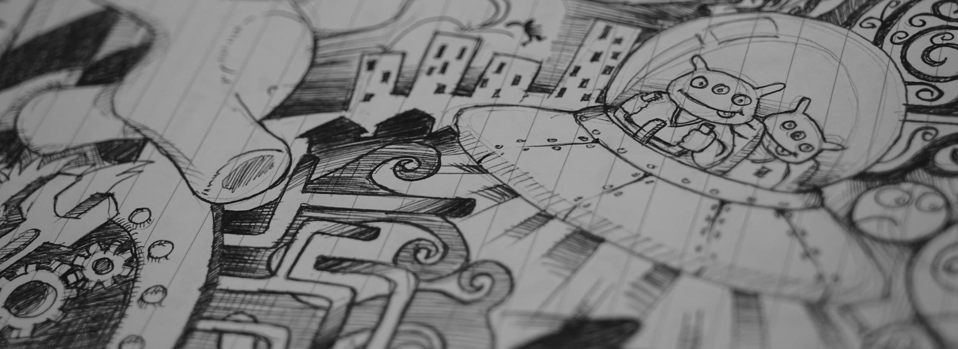 22+ Imaginative Doodle Art Designs | Free & Premium Templates