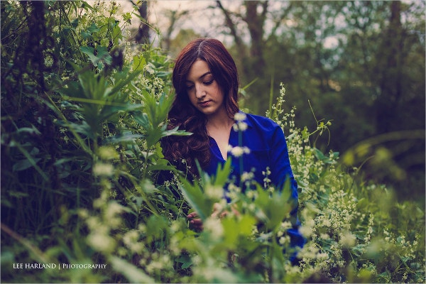 Outdoor Nature Portrait