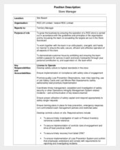 Chief Operating Officer Job Description Template