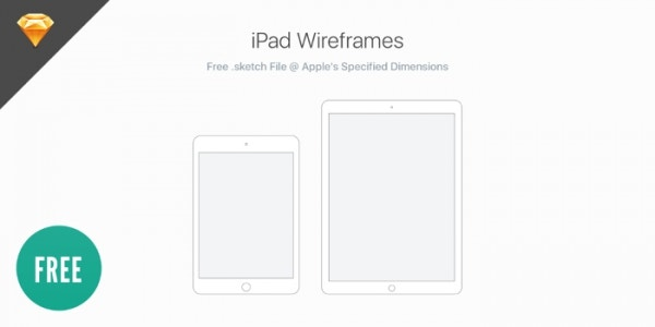 iPad Wireframes for UX Design