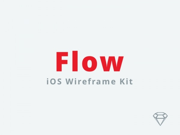 Clean Flow iOS Wireframe