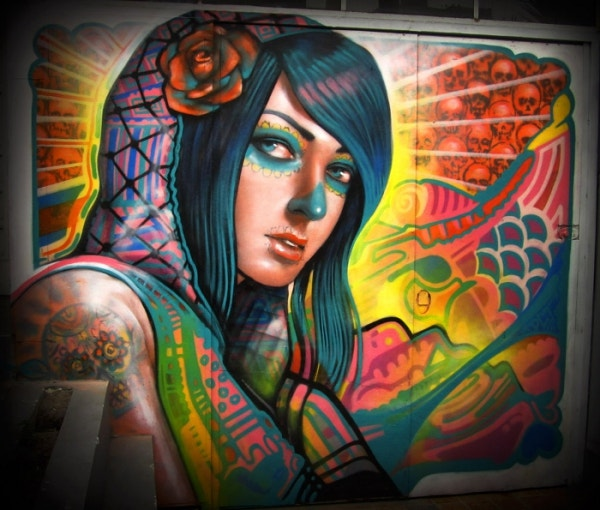 Beautiful Graffiti Art of Girl