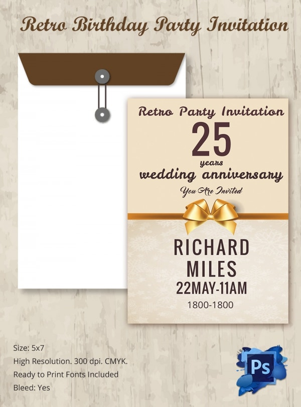 Freebie of The Day - Wedding Invitation Card