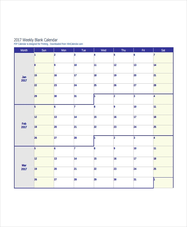 Printable Calendars -18+ Free Psd, Vector, Ai, Pdf, Word Document