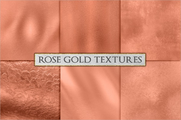 Rose Gold Texture