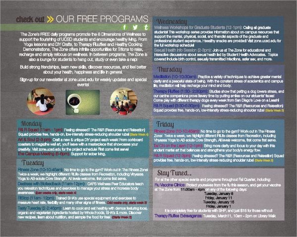 Zone Program Brochure