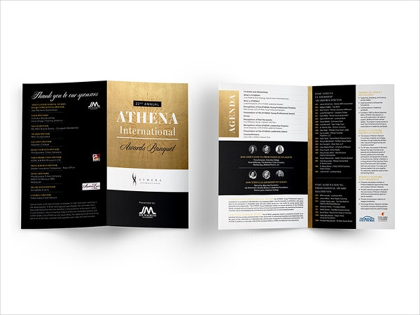 Event Program Brochure
