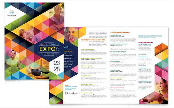 19 program brochure templates free psd ai eps format for Program brochure templates