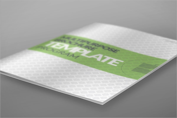 Corporate Program Brochure Template
