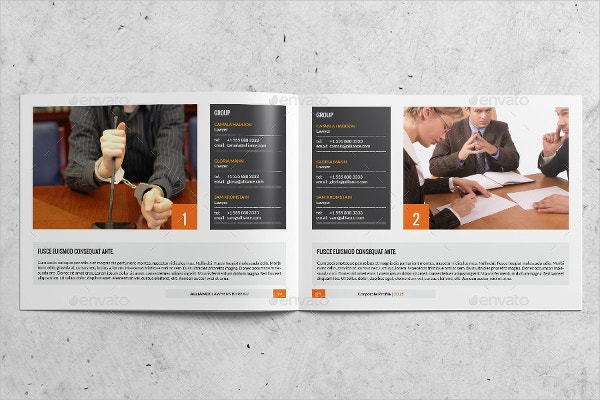 law firm us letter profile template