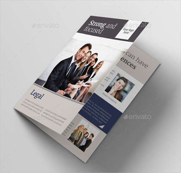 Law Firm Brochures  Free Psd Ai Eps Format Download  Free