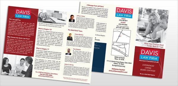 Davis Law Firm Brochure