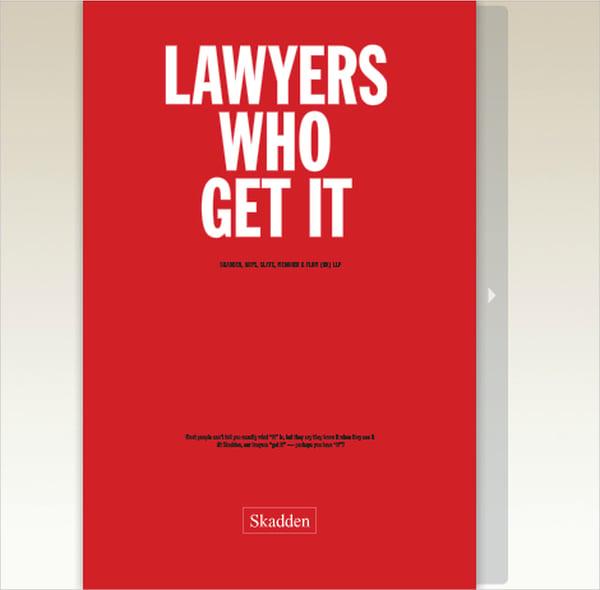 Law Firm LLP Brochure
