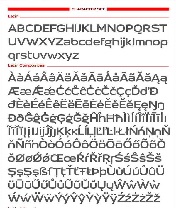 iproton bold font