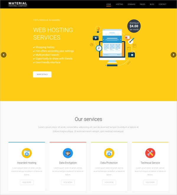 Creative WordPress Theme for Technology $49