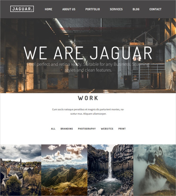 Startup Corporate One Page WP Theme $49