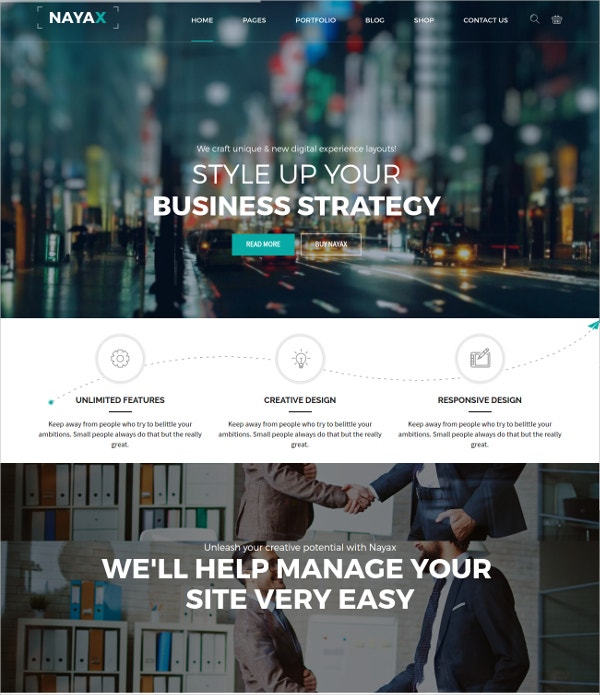 Creative & Modern Business Joomla Template $48