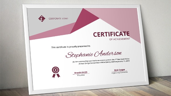 Painting Certificate Template 15 Word Pdf Psd Ai