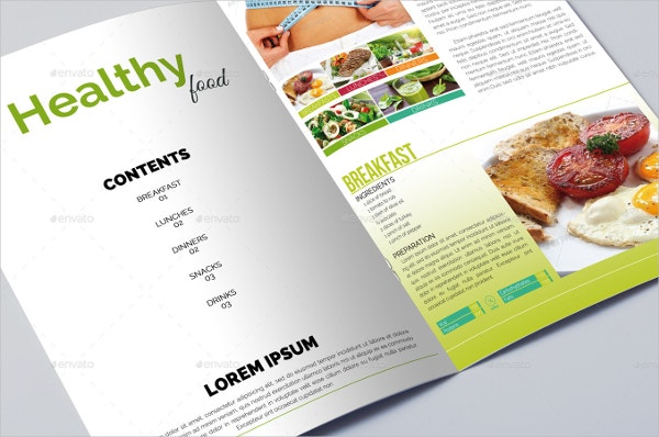 Food Brochure Templates Free PSD EPS AI Format Download - Mini brochure template