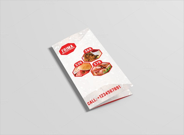Frima Food Brochure Template