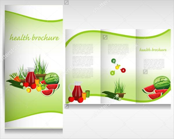 Vegetables & Fruits Brochure Template