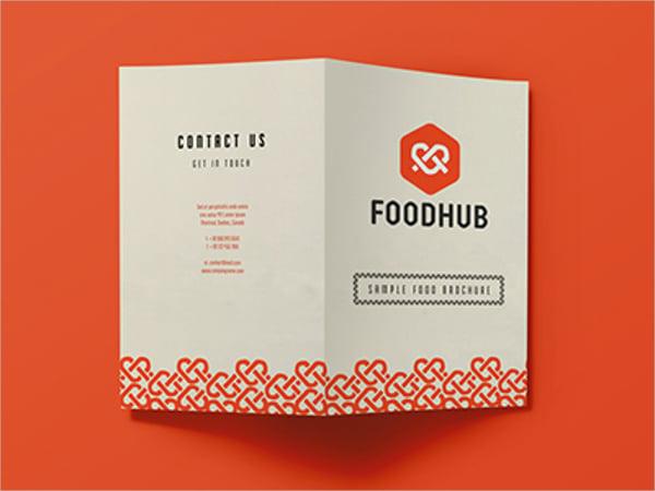 foodhub brochure template