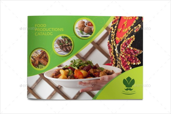 food products catalog brochure template