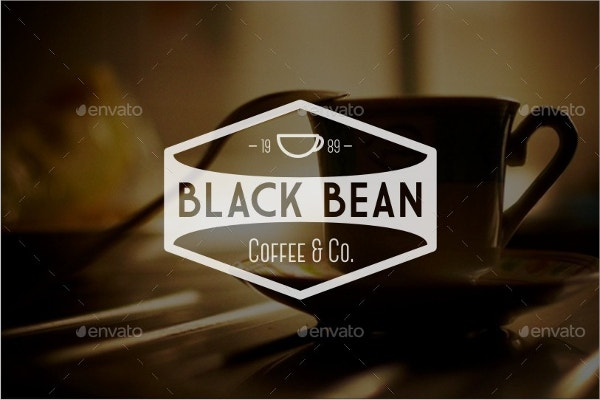 Vintage Style Coffee Logo Template