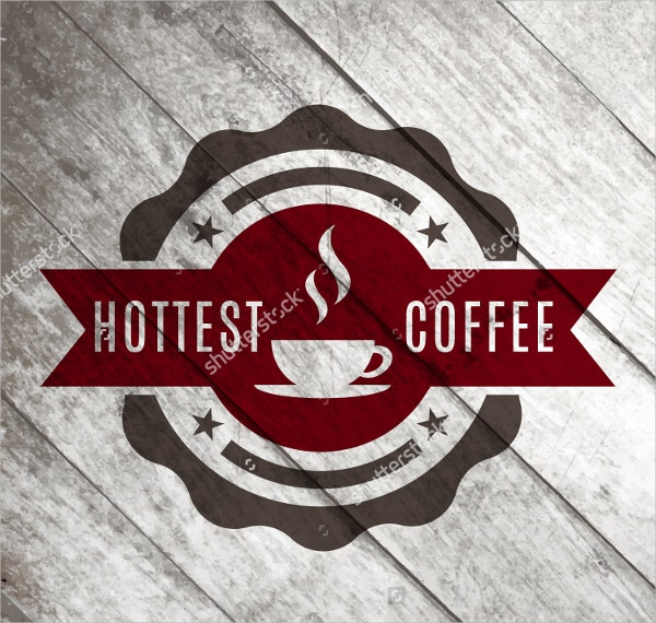 Vintage & Retro Coffee Vector Label