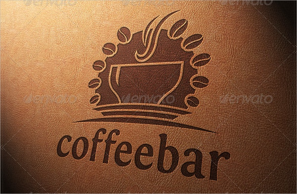 PSD Coffee Logo Template