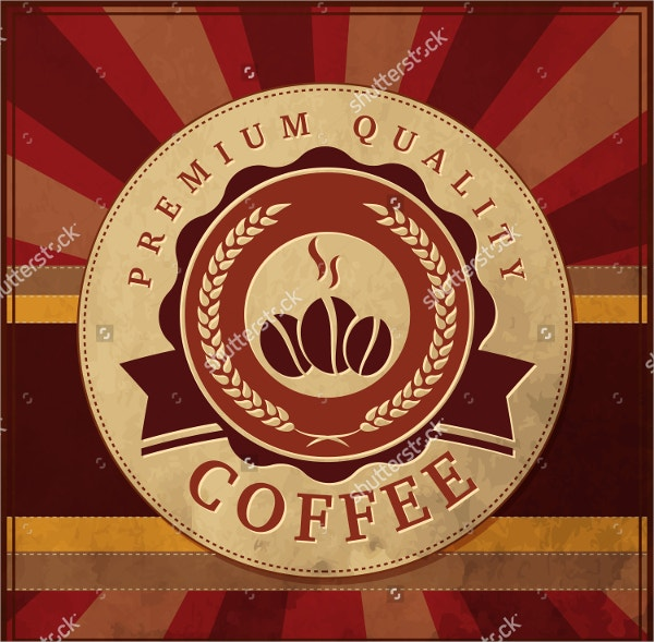 Coffee Logo with Beautiful Typography