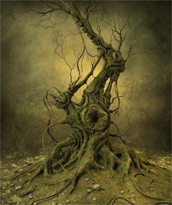 concept tree art design