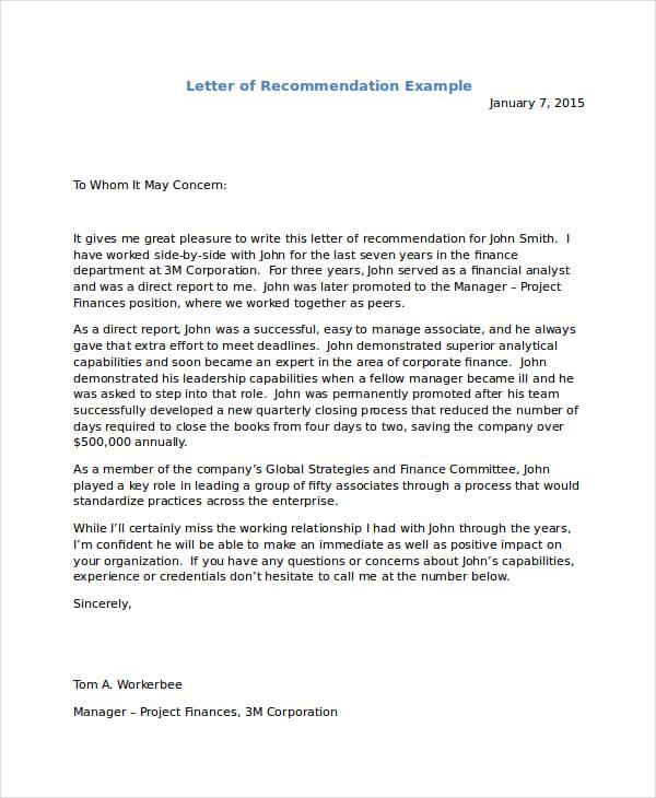 immigration letter format immigration letter format