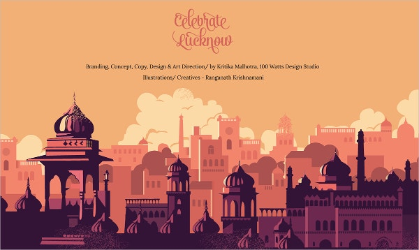 Celebrating Lucknow Concept Art