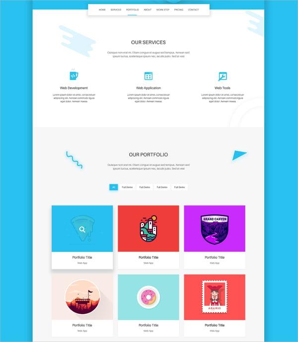 fugo landing page design