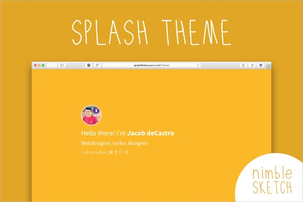 Splash page template free 28 images paint splash word for Wordpress splash page template