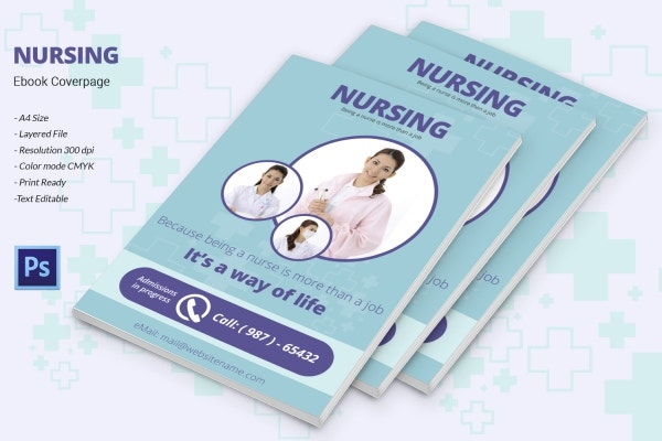 nursing e book cover page