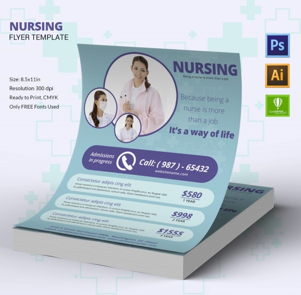 Flyer Design for Nursing