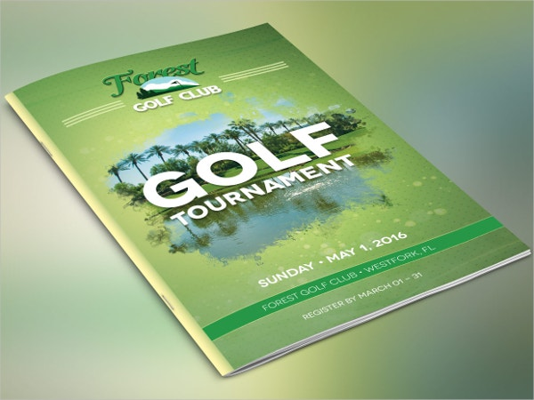 Golf Brochures  Free Psd Ai Eps Format Download  Free